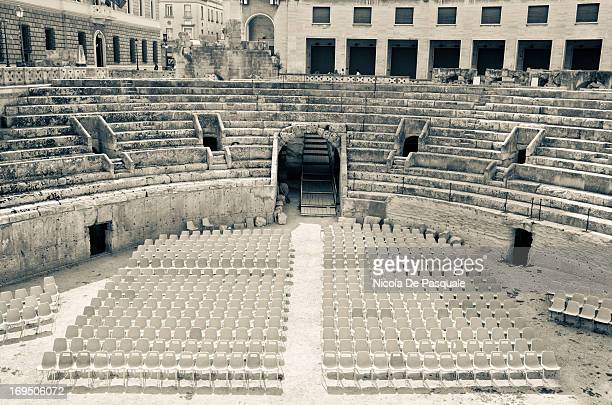 Below the ground level of Piazza Sant Oronzo is the restored 2nd century AD Roman amphitheatre, discovered in 1901 by construction workers. It was...
