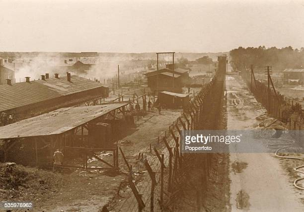 Belsen Concentration camp after it was liberated by British troops 15th April 1945 The Royal Army Medical Corps number 11 Light Field Ambulance...