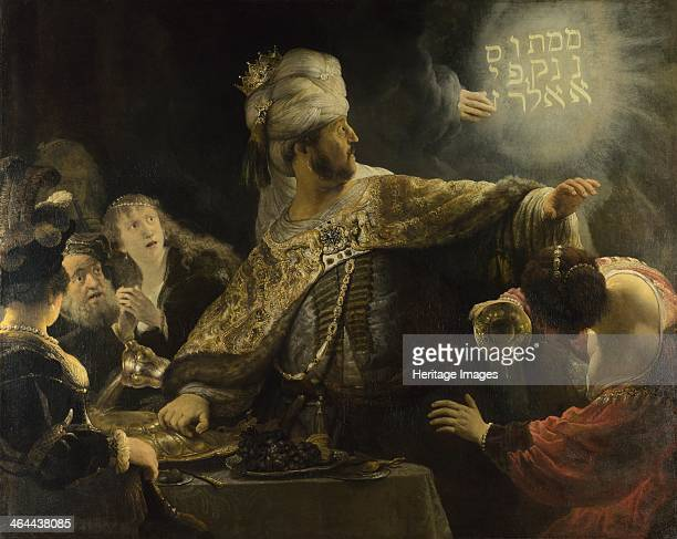 Belshazzar's Feast ca 1637 Found in the collection of the National Gallery London