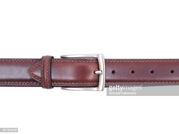 belt isolated - silver belt stock photos and pictures
