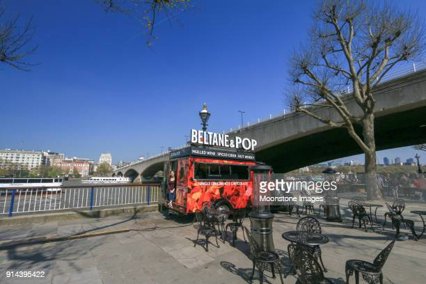 beltane & pop in south bank, london - beltane stock pictures, royalty-free photos & images