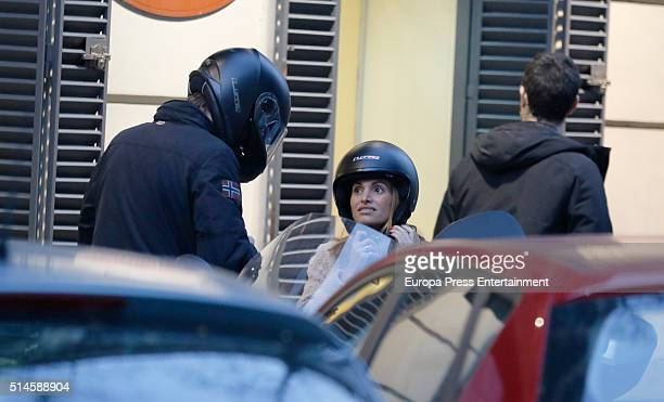 Beltran Gomez Acebo and Andrea Pascual are seen on January 26 2016 in Madrid Spain