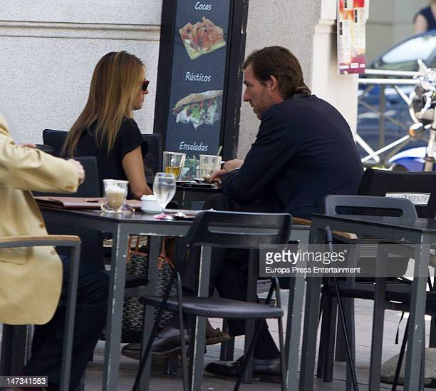 Beltran Gomez Acebo and Andrea Pascual are seen on June 27 2012 in Madrid Spain