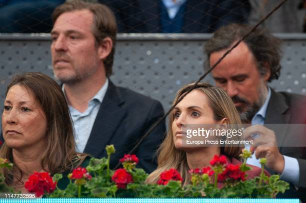 Beltran Gomez Acebo and Andrea Pascual attend Mutua Madrid Open at La Caja Magica on May 07 2019 in Madrid Spain