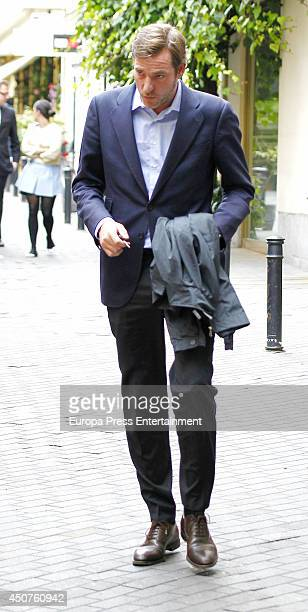 Beltran Gomez Acebo is seen on May 28 2014 in Madrid Spain