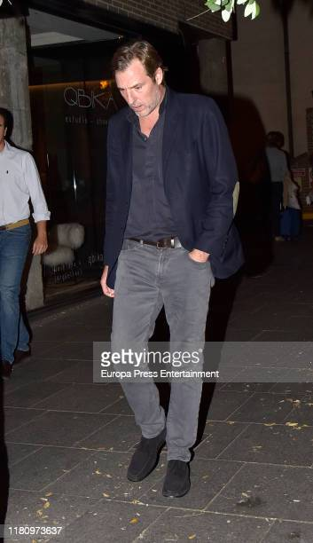 Beltran Gomez Acebo is seen on October 11 2019 in Madrid Spain