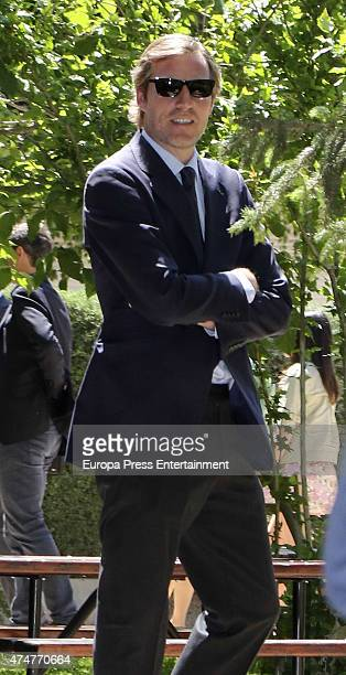 Beltran GomezAcebo attends the First Communion of Luis and Laura GomezAcebo on May 23 2015 in Madrid Spain