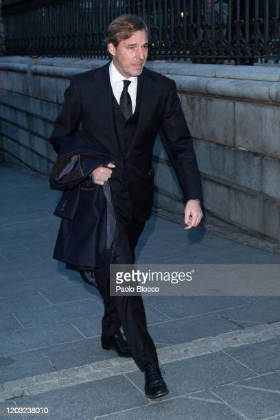 Beltran GomezAcebo attends the Pilar de Borbon funeral mass at Almudena Cathedral on January 31 2020 in Madrid Spain