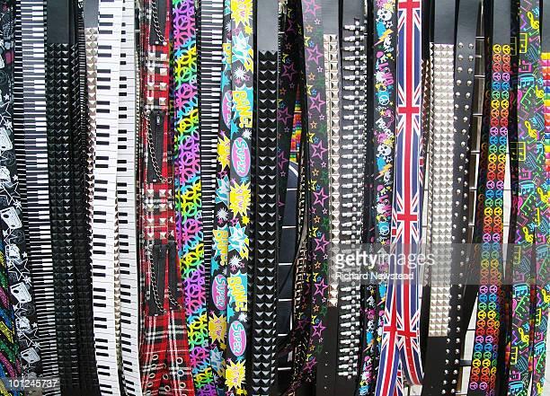Belts on a Belt Stall