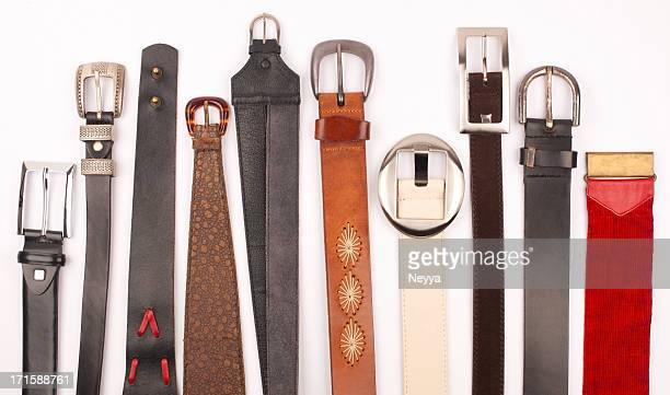 belts - leather belt stock pictures, royalty-free photos & images
