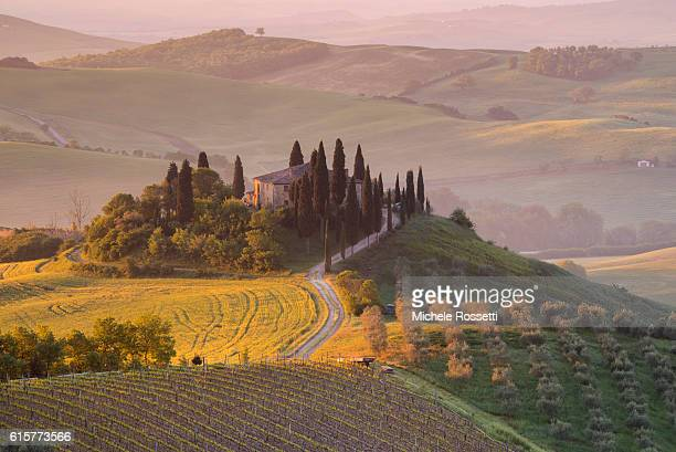 Belvedere Farmhouse in Orcia Valley
