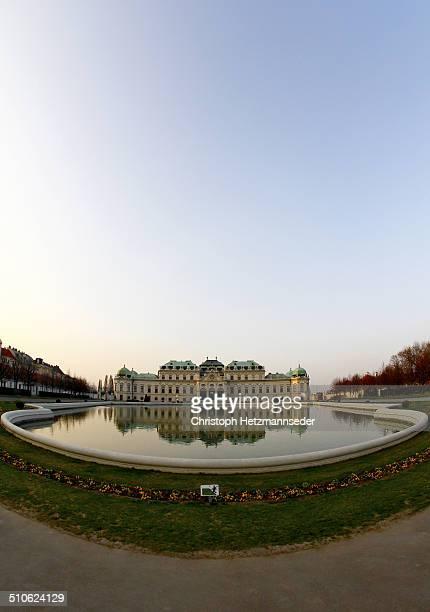 Belvedere Palace in Vienna.
