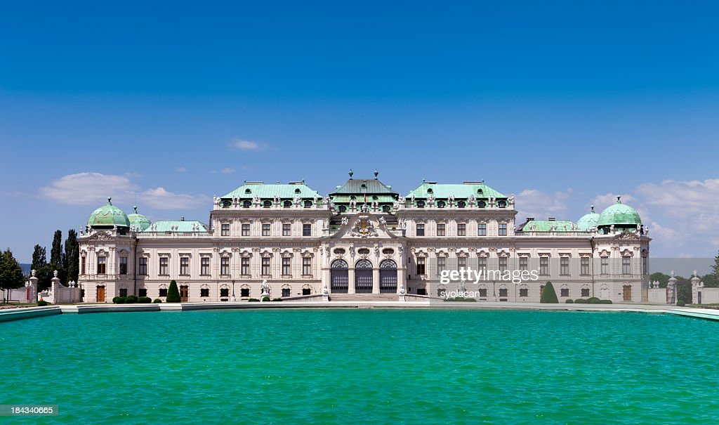 Belvedere  Palace : Stock Photo