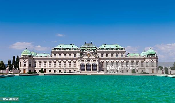 belvedere  palace - syolacan stock pictures, royalty-free photos & images