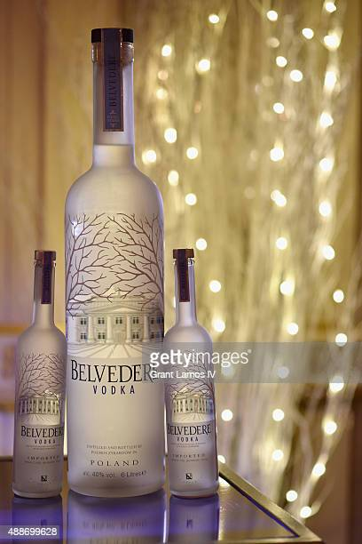 Belvedere Vodka and Moet Chandon Toast to Harper's Bazaar Icons on September 16 2015 in New York City