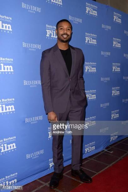 Belvedere Vodka Celebrates Michael B Jordan's Cinema Vanguard Award at the 34th annual Santa Barbara International Film Festival on February 07 2019...