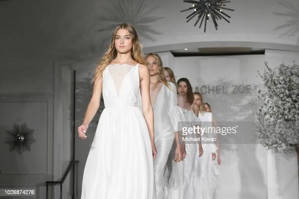 Belvedere Vodka Celebrates The Rachel Zoe Spring/Summer 2019 Presentation with models on the runway at Hotel Bel Air on September 4 2018 in Los...