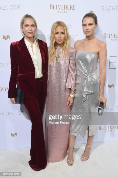 Belvedere Vodka Celebrates The Rachel Zoe Spring/Summer 2019 Presentation with Erin Foster, Rachel Zoe and Sara Foster at Hotel Bel Air on September...