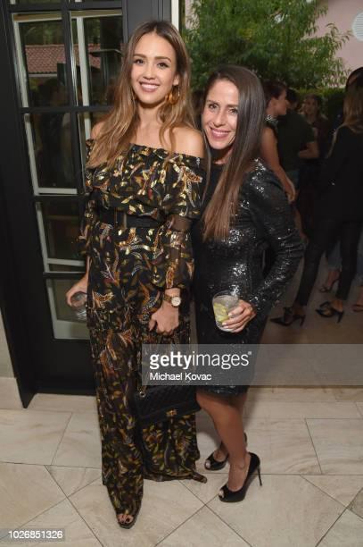 Belvedere Vodka Celebrates The Rachel Zoe Spring/Summer 2019 Presentation with Jessica Alba and Soleil Moon Frye at Hotel Bel Air on September 4,...