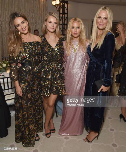 Belvedere Vodka Celebrates The Rachel Zoe Spring/Summer 2019 Presentation with Jessica Alba Kelly Sawyer Rachel Zoe and Molly Sims at Hotel Bel Air...