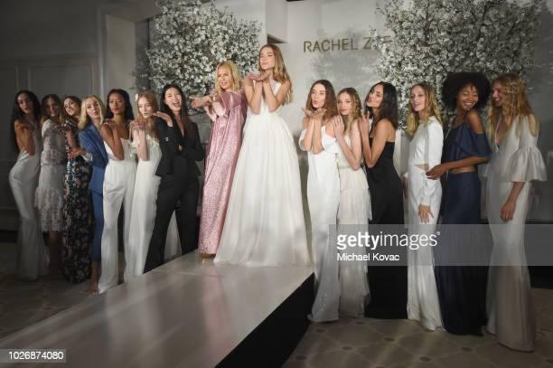 Belvedere Vodka Celebrates The Rachel Zoe Spring/Summer 2019 Presentation with Rachel Zoe and models at Hotel Bel Air on September 4 2018 in Los...