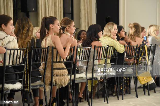 Belvedere Vodka Celebrates The Rachel Zoe Spring/Summer 2019 Presentation with Victoria Justice and Lauren Bushnell at Hotel Bel Air on September 4...