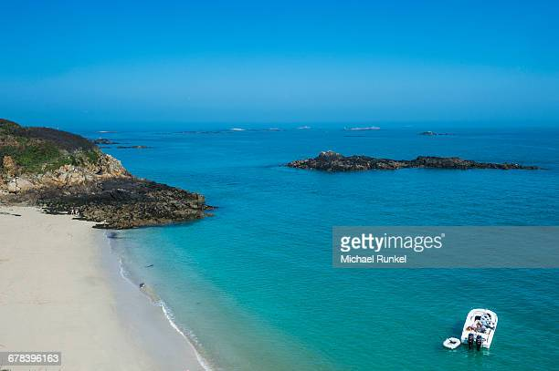 Belvoir Bay, Herm, Channel Islands, United Kingdom, Europe