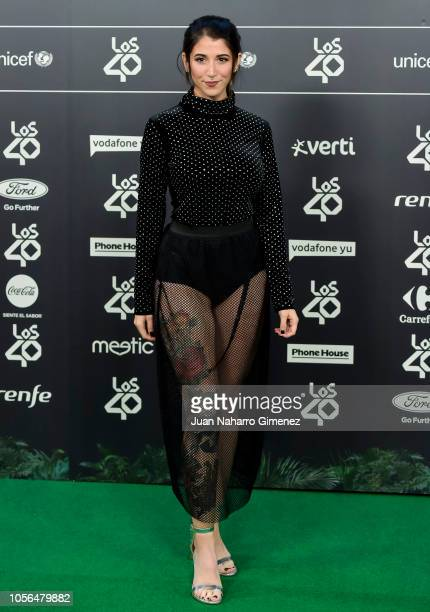 Bely Basarte attends during 'LOS40 Music Awards' 2018 at WiZink Center on November 2 2018 in Madrid Spain