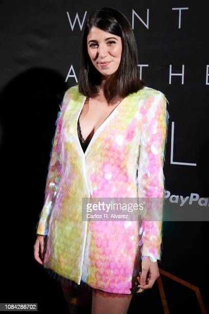 Bely Basarte attends the Winter Anthem Gala photocall at Circulo de Bellas Artes on December 18 2018 in Madrid Spain