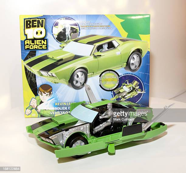 Ben 10 alien force stock photos and pictures getty images a ben 10 alien force action cruiser one of the top 12 christmas toys on display voltagebd Image collections