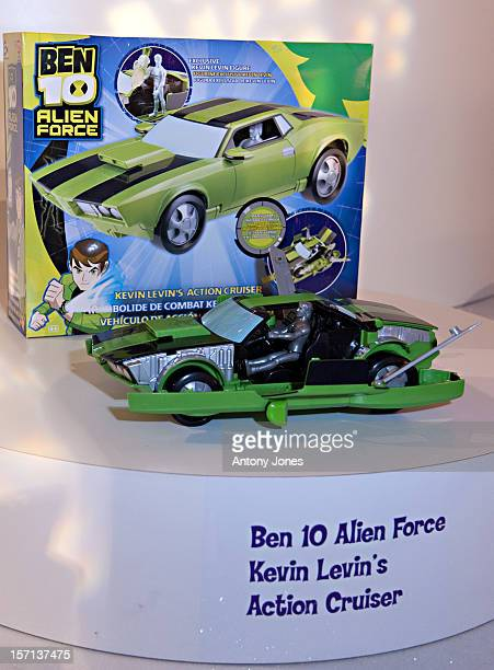 Ben 10 alien force stock photos and pictures getty images ben 10 alien force kevins dx action cruiser at the dream toys show in voltagebd Image collections