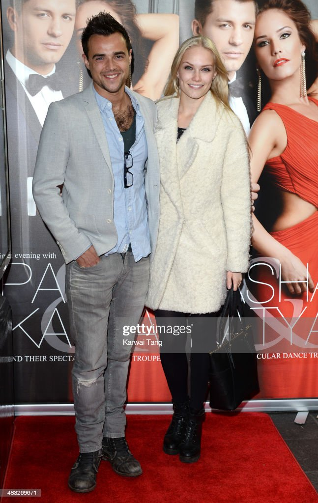 Ben Adams attends the VIP preview evening for 'Katya & Pasha' held at the Lyric Theatre on April 7, 2014 in London, England.