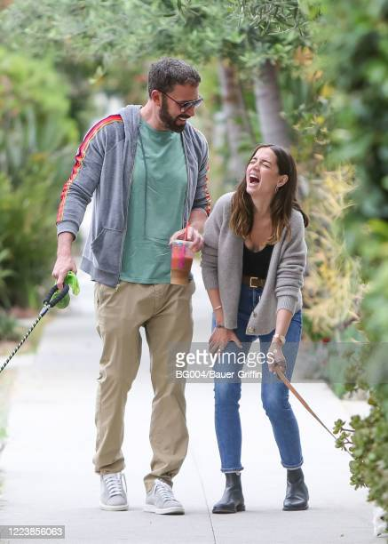 Ben Affleck and Ana de Armas are seen on July 01 2020 in Los Angeles California