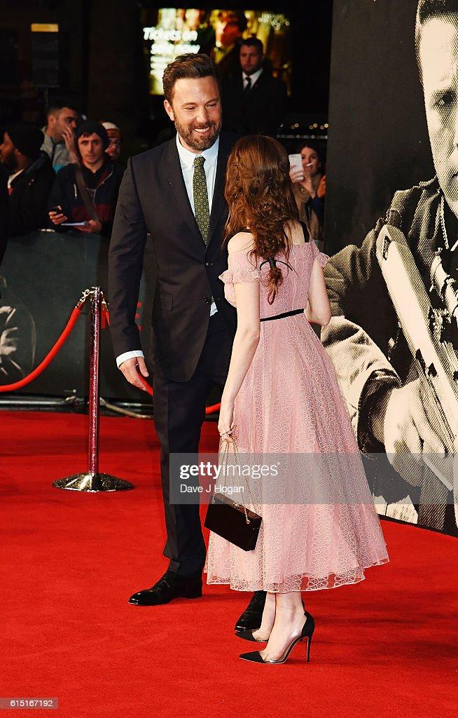"""The Accountant"" - UK Premiere - VIP Arrivals"