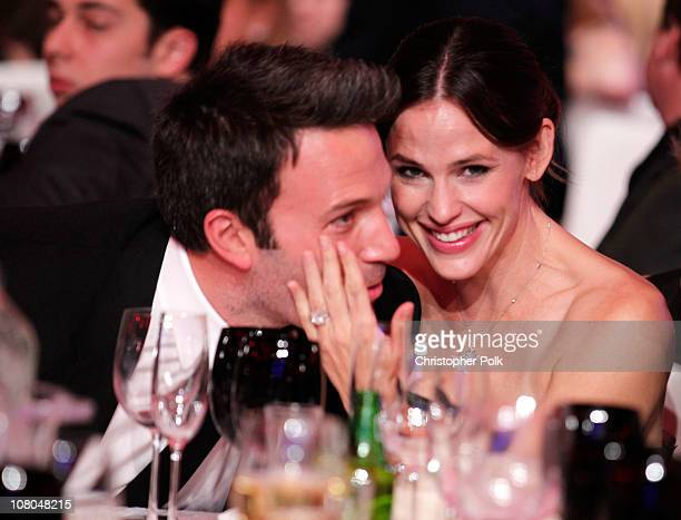 Ben Affleck and Jennifer Garner and Jennifer during the 16th annual Critics' Choice Movie Awards at the Hollywood Palladium on January 14 2011 in Los...