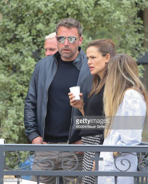 Ben Affleck and Jennifer Garner are seen on April 28 2019 in Los Angeles California