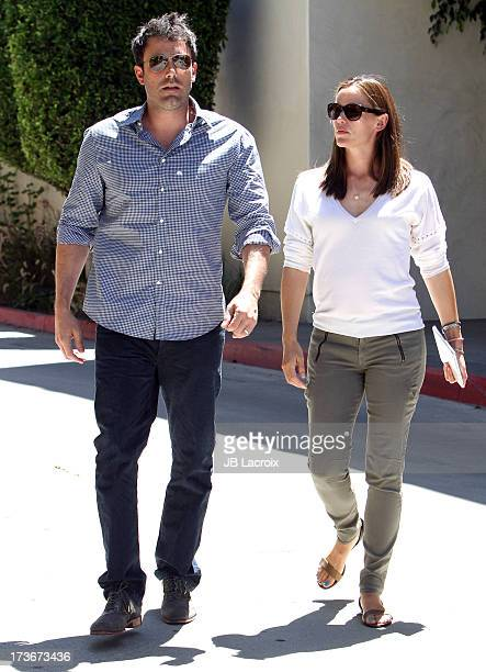 Ben Affleck and Jennifer Garner are seen on July 16 2013 in Los Angeles California