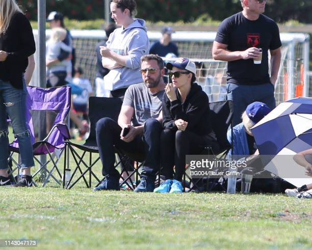 Ben Affleck and Jennifer Garner are seen on May 11 2019 in Los Angeles California