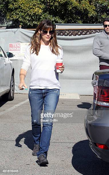 Ben Affleck and Jennifer Garner are seen on November 24 2013 in Los Angeles California