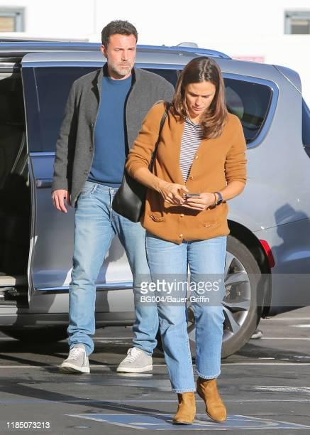 Ben Affleck and Jennifer Garner are seen on November 27 2019 in Los Angeles California