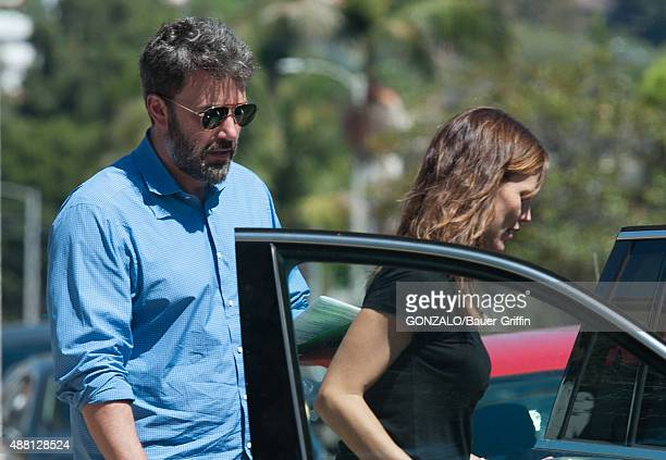Ben Affleck and Jennifer Garner are seen on September 13 2015 in Los Angeles California