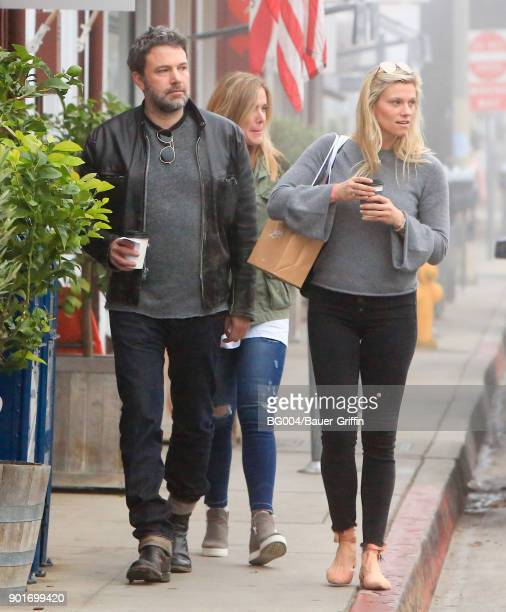 Ben Affleck and Lindsay Shookus are seen on January 05 2018 in Los Angeles California