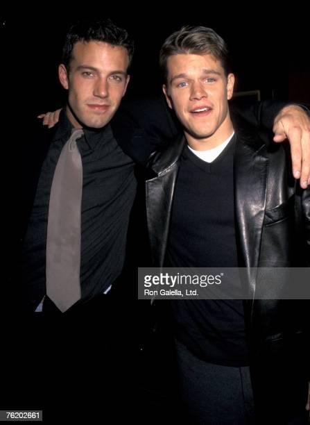 Ben Affleck and Matt Damon