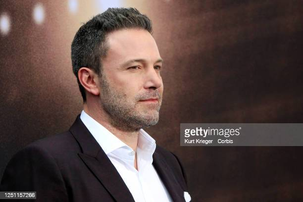 Ben Affleck arrives at the premiere for 'The Way Back' at Regal LA Live on March 01, 2020 in Los Angeles, California.