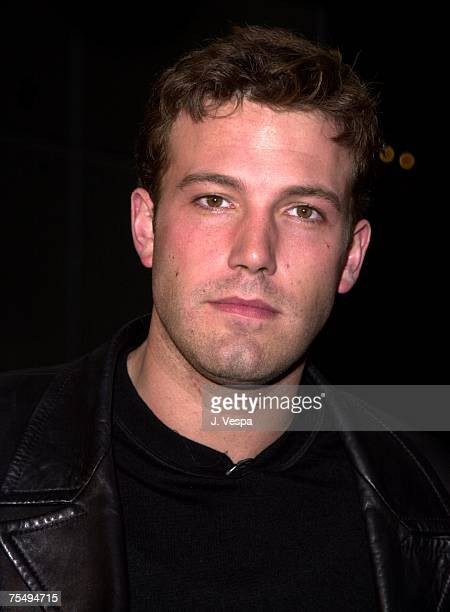 Ben Affleck at the Galaxy Theatre in Hollywood California