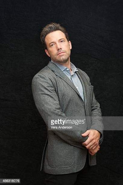 Ben Affleck at the 'Gone Girl' Press Conference at the Ritz Carlton Hotel on September 27 2014 in New York City