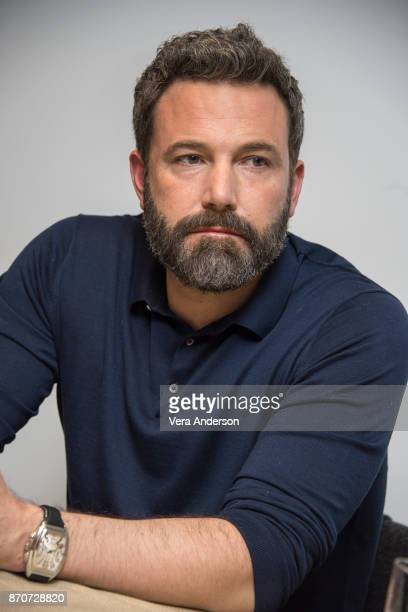 Ben Affleck at the Justice League Press Conference at The Rosewood Hotel on November 4 2017 in London England