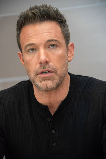 American Actor Ben Affleck looks on during a game at the Staples Center on March 1 2020 in Los Angeles CA NOTE TO USER User expressly acknowledges...