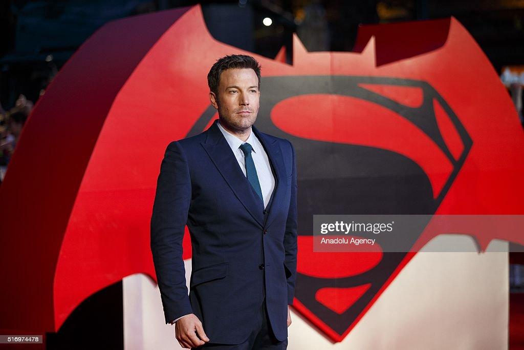 Batman v Superman: Dawn of Justice - European Premiere : ニュース写真
