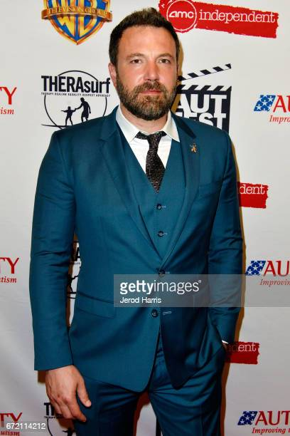 Ben Affleck attends 1st Annual AutFest International Film Festival at AMC Orange 30 on April 23 2017 in Orange California